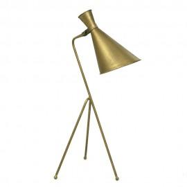 LAMPA STOŁOWA METALOWA ZŁOTA 78x28cm