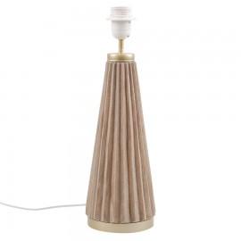 NOGA LAMPY ZŁOTA BEŻOWA 42cm LAMPA STOŁOWA