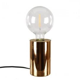 LAMPA STOŁOWA MIEDZIANA 15x10cm