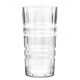 SZKLANKI DO DRINKÓW NAPOI ZDOBIONE 6szt 250ml SZKLANKA ZDOBIONA BEZBARWNA
